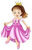 Illustration of a princess
