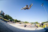 Cedric Maximo During The Dvs Bmx Series 2014 By Fuel Tv
