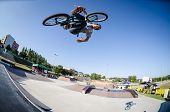 Carlos Iglesias During The Dvs Bmx Series 2014 By Fuel Tv