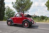 Old Italian Car Fiat 500 Topolino
