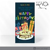 Party Invitation Card Design, Template