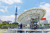 Nagoya, Japan city skyline with Nagoya Tower.