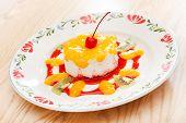 panna cotta dessert for kids