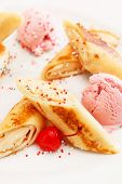 pancakes with ice cream for kids