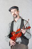 Serious Celtic Folk Musician