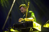 BONTIDA - JUNE 21: Artist Bonobo performs live at the main stage of the Electric Castle Festival at