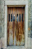 Typical old door