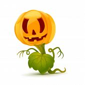 Cartoon Pumpkin Monster