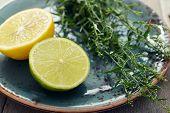 Tarragon With Lemon And Lime