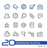 Website Icons // Line Series