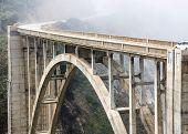 pic of bixby  - Historic Bixby Bridge - JPG