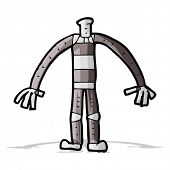 cartoon robot body (mix and match cartoons or add own photo head)