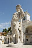 Statue Of Caco,udine Italy