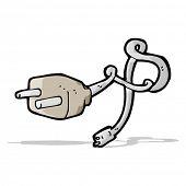 cartoon plug