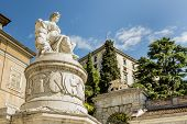 Statue Of Peace. Udine, Friuli, Italy
