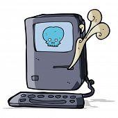 computer virus cartoon