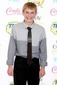 LOS ANGELES - AUG 10:  Nathan Gamble at the 2014 Teen Choice Awards at Shrine Auditorium on August 1