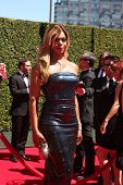 LOS ANGELES - AUG 16:  Laverne Cox at the 2014 Creative Emmy Awards - Arrivals at Nokia Theater on August 16, 2014 in Los Angeles, CA