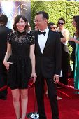 LOS ANGELES - AUG 16:  Carrie Brownstein, Fred Armisen at the 2014 Creative Emmy Awards - Arrivals at Nokia Theater on August 16, 2014 in Los Angeles, CA