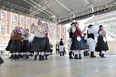 ZAGREB, CROATIA - JULY 19: Members of folk group Selacka Sloga from Nedelisce, Croatia during the 48