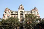 KOKATA, INDIA - NOVEMBER 25: B.B.D. Bagh - the business centre of Calutta / Kolkata, India  on Novem