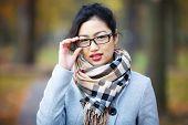 Beautiful Girl In Glasses