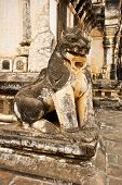 lion in the Ananda Temple