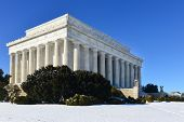 foto of abraham  - Washington DC in Winter  - JPG