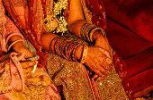 Henna On Brides Hands