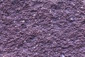 Plaster Or Cement Texture Violet Color