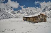 Himalayas Near Kanchenjunga