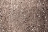 Plaster Or Cement Texture Brown Color