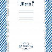 Ripped Paper Oktoberfest Background For Menu