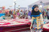 Handmade Jute Carpets , Indian Handicrafts Fair At Kolkata