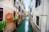 Water Canal In Italy