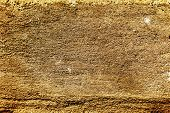 Plaster Or Cement Texture Yellow Brown Color