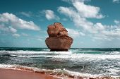 stock photo of 12 apostles  - closeup of beautiful twelve apostles in Australia - JPG