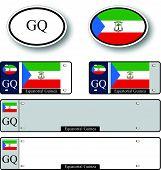 Equatorial Guinea Auto Set