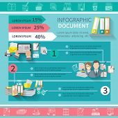 Document Infographics Set