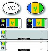 Saint Vincent And The Grenadines Auto Set