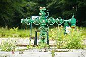 Old Gas Valve System