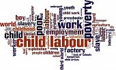 Child Labour Word Cloud