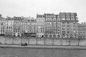 Embankment Of The River Seine In Paris.