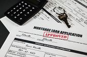 Mortgage Loan Application Approved 011
