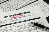 Mortgage Loan Application Rejected 001