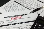 Mortgage Loan Application Rejected 005