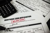 Mortgage Loan Application Rejected 007
