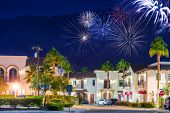 Old Town La Quinta Fireworks