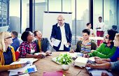 stock photo of seminars  - Business People Conference Meeting Seminar Team Teamwork Concept - JPG