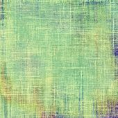 Antique vintage textured background. With different color patterns: yellow (beige); green; cyan